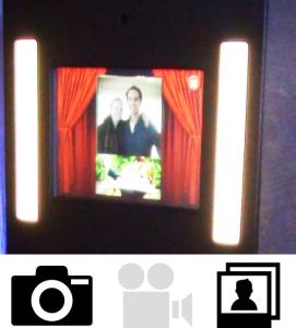 Fotobooth foto en printen