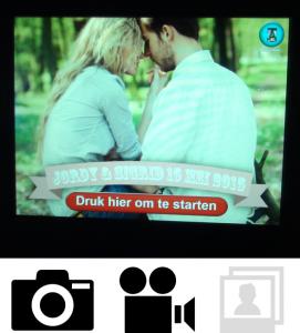 Fotobooth foto en videogastenboek