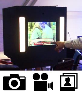 Fotobooth foto's videogastenboek en printen